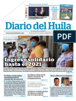 Julio 21 Diario del Huila