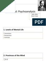 Freud Psychoanalysis