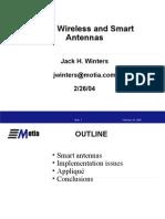 Intel Smart Antenna Workshop