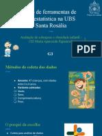 Uso de ferramentas de bioestatística na UBS Santa Rosália