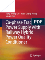 Keng-Weng Lao, Man-Chung Wong, NingYi Dai - Co-phase Traction Power Supply with Railway Hybrid Power Quality Conditioner (2019, Springer Singapore) - libgen.lc
