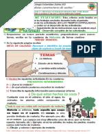 TALLER 1 CIENCIAS NATURALES GRADO TERCERO