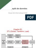 CHAPITRE05-ETL-Entrepot de données