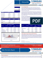 DERIVATIVE REPORT FOR 17 JAN - MANSUKH INVESTMENT AND TRADING SOLUTIONS
