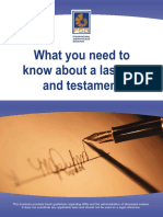 Last Wills and Testament guide