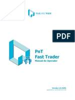 PnT Fast Trader - Manual do Operador