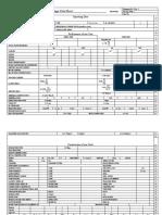 Heat Exchanger Data Sheet HX3