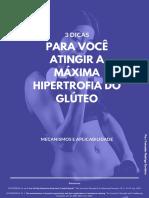 3 dicas para você atingir a máxima hipertrofia do glúteo