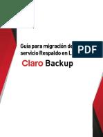 Claro_Backup_Manual de Usuarios_Migracion Respaldo en Linea_vF