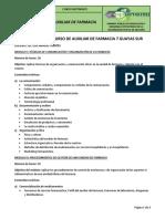 PROGRAMA DEL CURSO DE FARMACIA 7 GUAYAS SUR