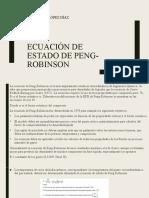 ECUACIÓN DE ESTADO DE PENG-ROBINSON.pptx