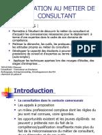 Initiation au métier de consultant