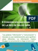 Convencion Red Nacional Daya 2017  - Protocolo de Comunicaciones