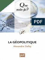 La géopolitique (1)