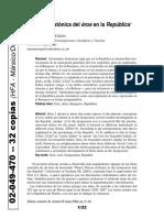 02049470 Fierro - La teoría platónica del éros en la República
