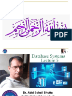 DB Lec ALL  Online  - 5