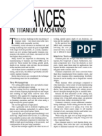 Advances in Ti Machining -MRR