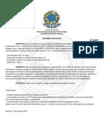 TRF1 - Certidão aprovação concurso analista