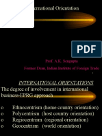 International Orientation