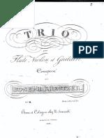 Kreutzer Joseph - Trio3
