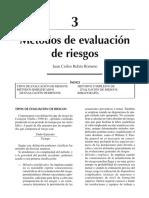 Métodos de evaluación de Riesgos