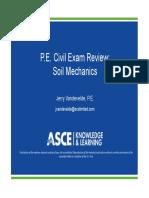 Spring 2019 Session 5 - Soil Mechanics