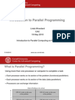 Parallel Programming Intro