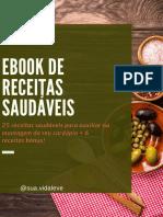 Ebook de Receitas Saudáveis - Sua Vida Leve