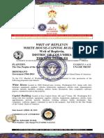 WKE UNS Writ of Replevin 2014 September