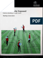 Greenstein, Stanley - Our Humanity Exposed - Predictive Modelling in a Legal Context (Chapter 7 - Conclusion).pdf
