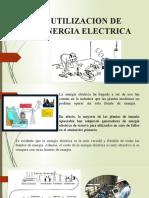 UTILIZACION DE ENERGIA ELECTRICA