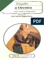 Esquilo - La Orestea (ed. José Luis de Miguel).pdf