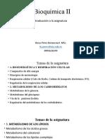 INTRODUCCION A LA BIOQUIMICA 2.0