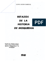 Libro Retazos Historia Moquegua - 1 Parte