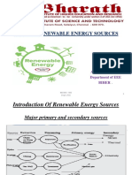 EEE- BEE048 - Renewable Energy Sources- Mrs. R. Rathika