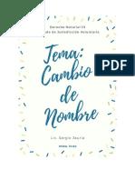 13. CAMBIO DE NOMBRE-- Clase 22.04.2020