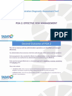 POA 2 - Effective Risk Management