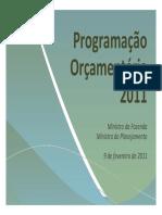 Programação-Orçamentária-2011