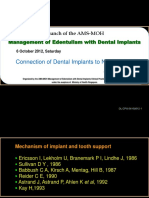 Dr Dominic Leung - Connection Of Dental Implants To Natural Teeth