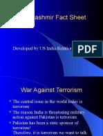 Kashmir Presentation US India
