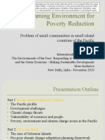 Mainstreaming Environment for Poverty Reduction