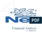 Financial Analysis of Nestle Ltd