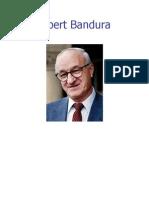 BANDURA, Albert (Terapia Comport a Mental Cognitiva