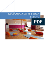 ETOP ANALYSIS OF  A YOGA CENTRE.docx