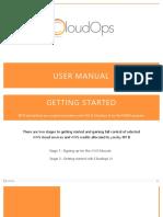 CloudOps user Manual