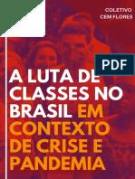 [EBOOK] Cem Flores - A Luta de Classes no Brasil em Contexto de Crise e Pandemia - 2020