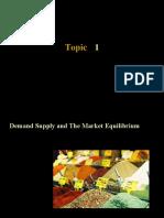 T1 - supply demand mkt eq