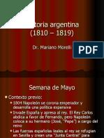 Historia argentina 1810-1819