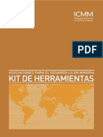 Kit de Herramientas Promover Minera