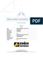 DRUG AND ALCOHOL POLICY (002)